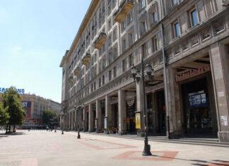Spacerem po Warszawie: Plac Konstytucji
