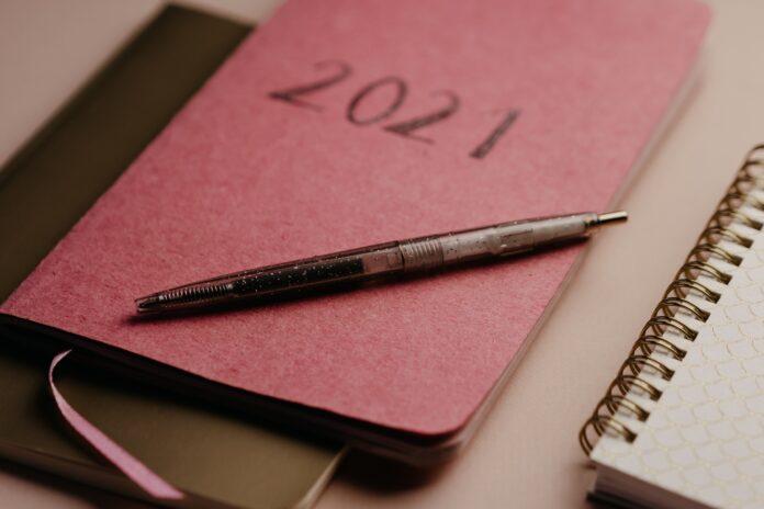 Lista z postanowieniami noworocznymi